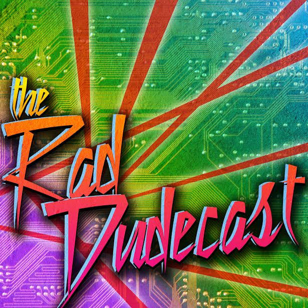 The Rad Dudecast Logo